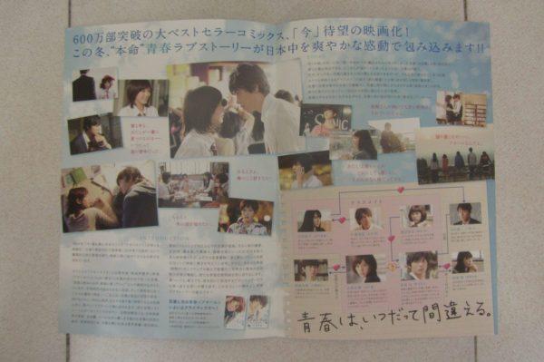 閃爍的青春 日本電影海報