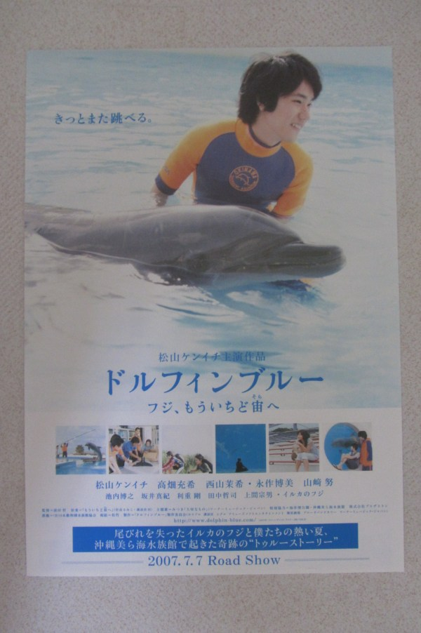 藍海豚富士 日本電影海報