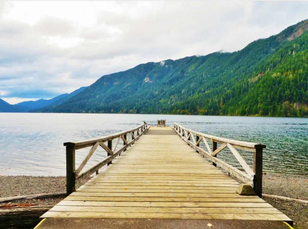 The spectacular Lake Crescent stretches for about 5 miles along the  northern leg of Hwy 101, 18 miles from Port Angeles. The glacier-carved lake  is over 600 ...