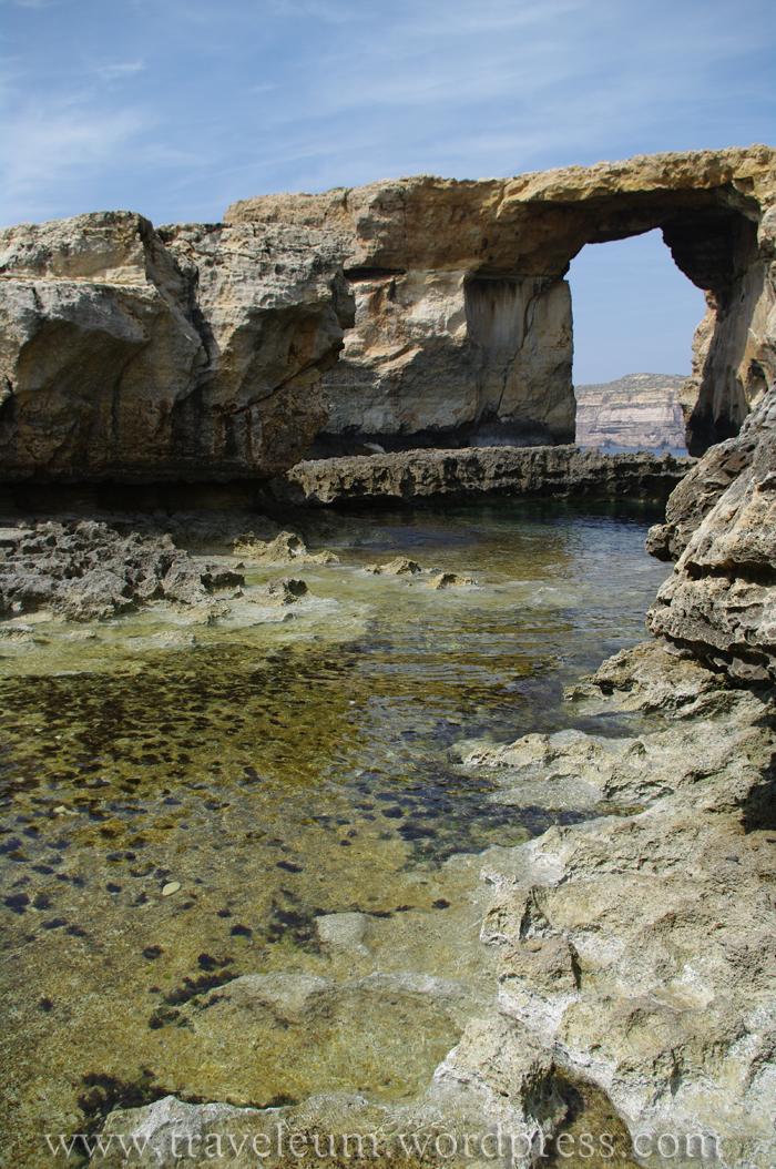 Malta - formacje skalne na Gozo