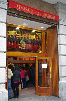 Madryt - muzeum szynki