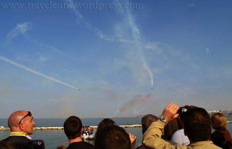 Włochy - pokaz lotniczy w Bari