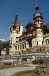 Rumunia: Karpaty Południowe - zamek Peles