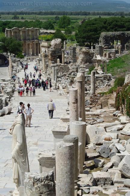 Efez - Droga Kuretów