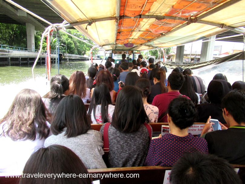 Bangkok Canal Ferry for house sitting digital nomads