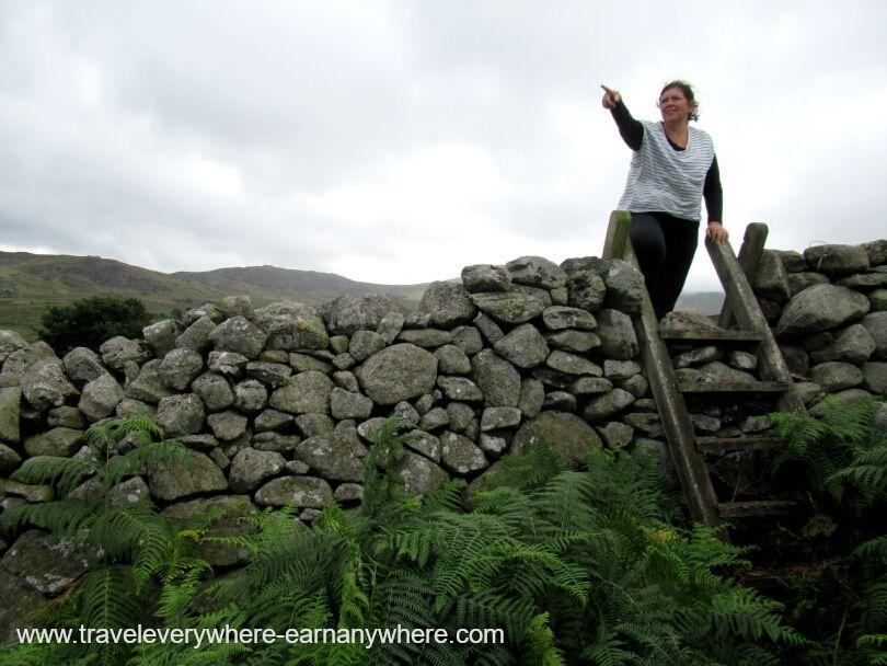 Walking in Wales as Digital Nomads