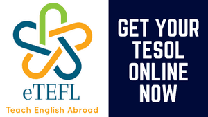 Get Your TESOL Certificate Now with eTEFL Online