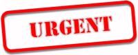 Urgent Job Stamp