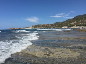 St Aba Druche Public Beach, Bosa, Sardinia