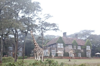 Giraffe Manor, Nairobi, Africa
