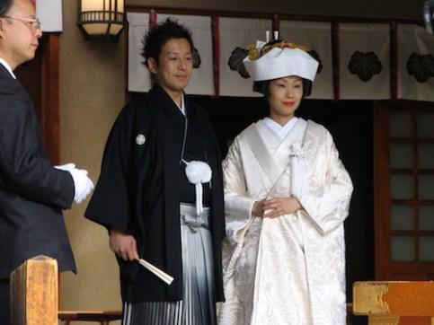Japanese wedding Togo Shrine Harajuku (9)