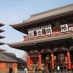 Sensoji Temple in Asakusa