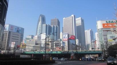 Shinjuku skyline (1)