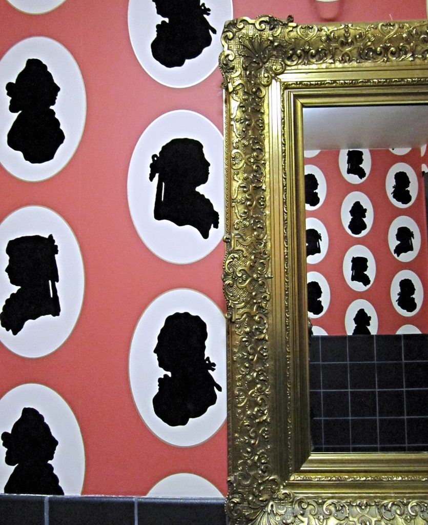 Silhouettes, unexpected and humorous
