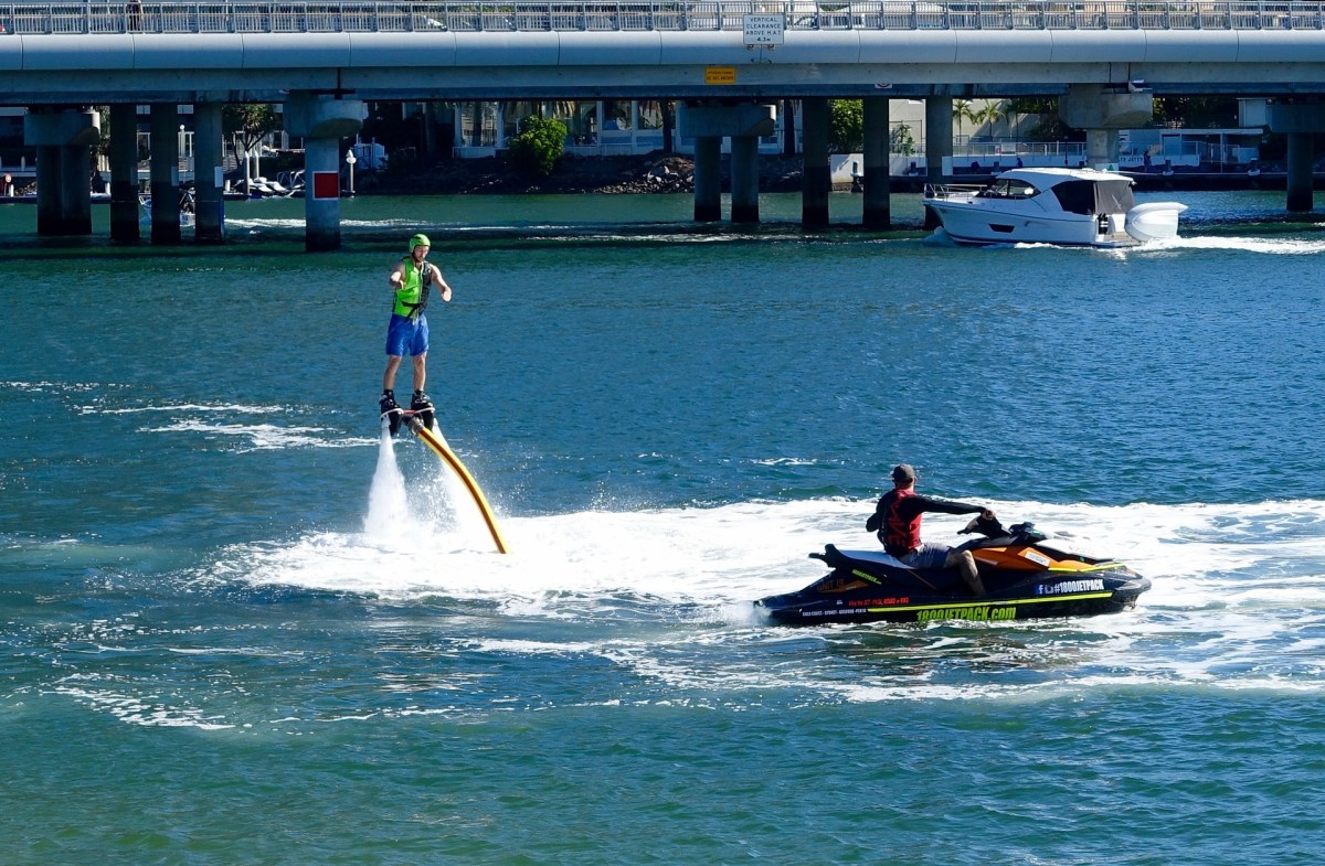 X-JetPack Experience with Hydro Water Sports, Dubai - Travel