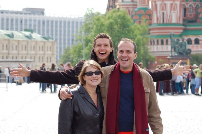 Go Russia at Red Square