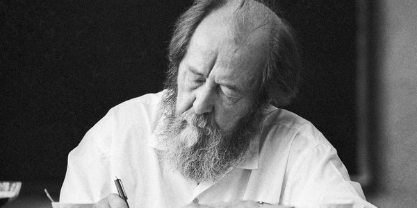 Commemorate a hundred years since Solzhenitsyn's birth this December