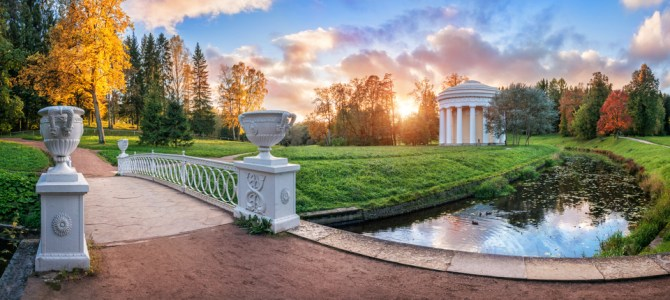 Discover the Pavlovsk Palace in St. Petersburg
