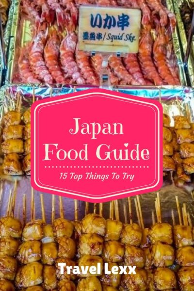 Trying all the delicious Japanese food is a highlight of any trip to the Land of the Rising Sun. There are is always something new to taste and discover.