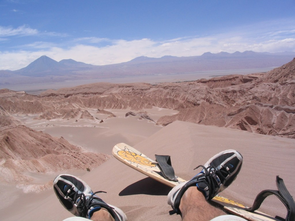 Sandboarding in Death Valley (source: https://www.flickr.com/photos/rewbs/)