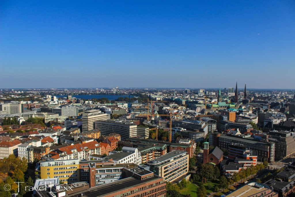 View from St Michael's Church, Hamburg