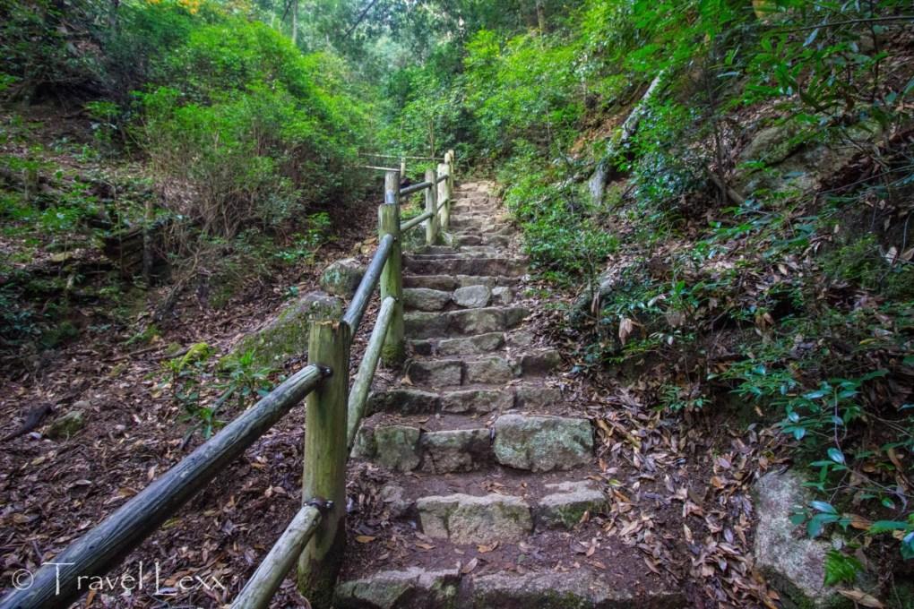 Momijidani Route, Miyajima