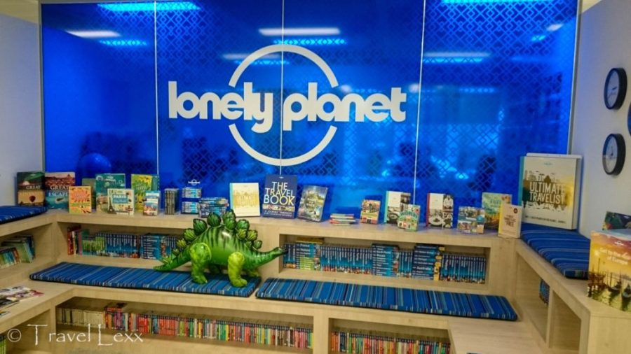 Lonely Planet offices, Traverse 17