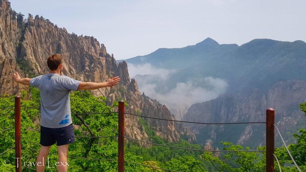 Rock formations, Seoraksan hike