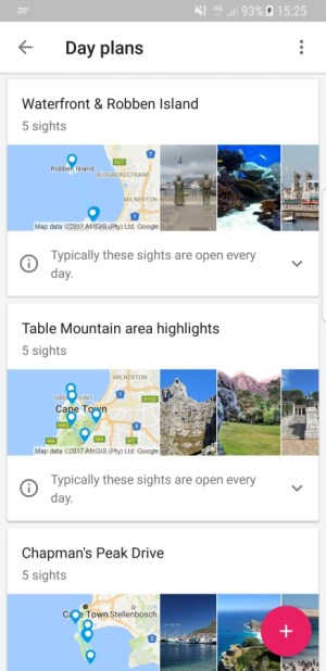 Travel Apps - Google Trips