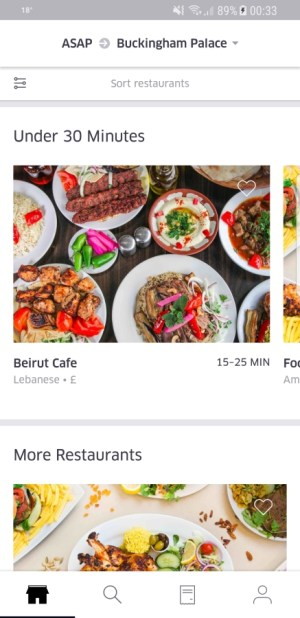 Travel Apps - UberEATS