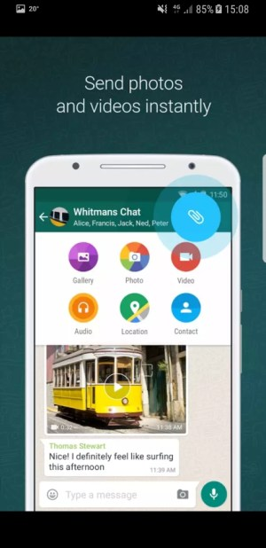 Travel Apps - WhatsApp Messenger