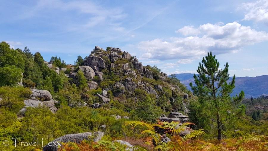 Rock formations in Peneda-Gerês national park