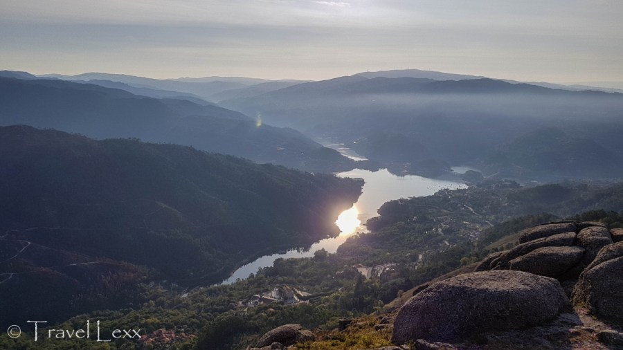 Views of the valley and river - Hiking in Peneda-Gerês National Park