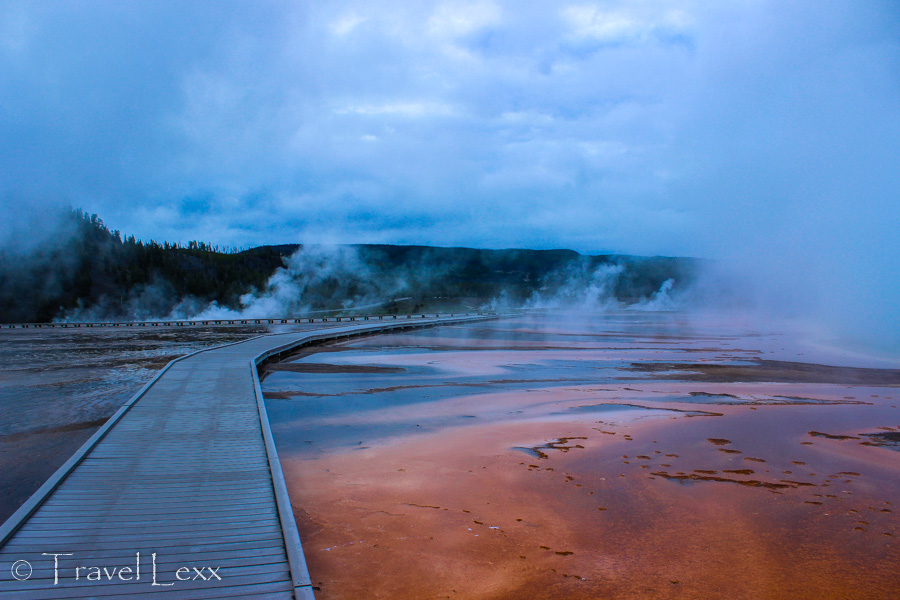 Grand Prismatic Spring - 8 Reasons You Should Visit Yellowstone National Park