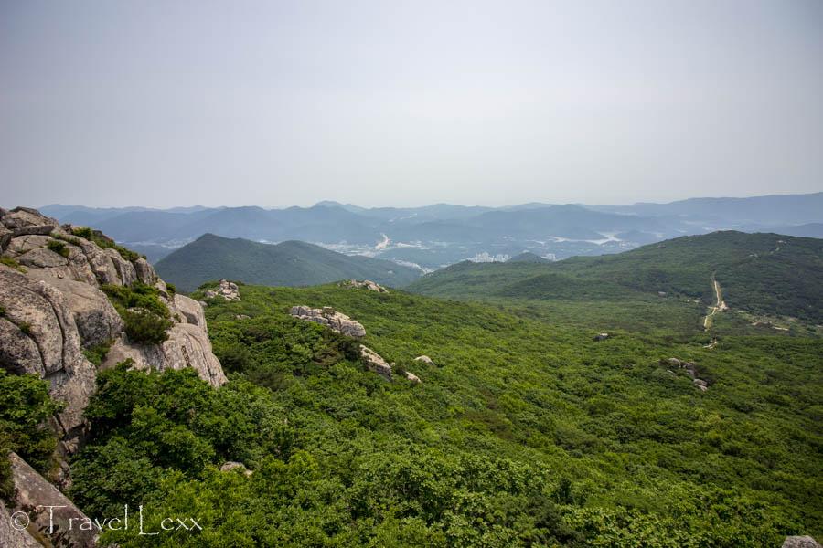 Panoramic view of the Mt. Geumjeongsan