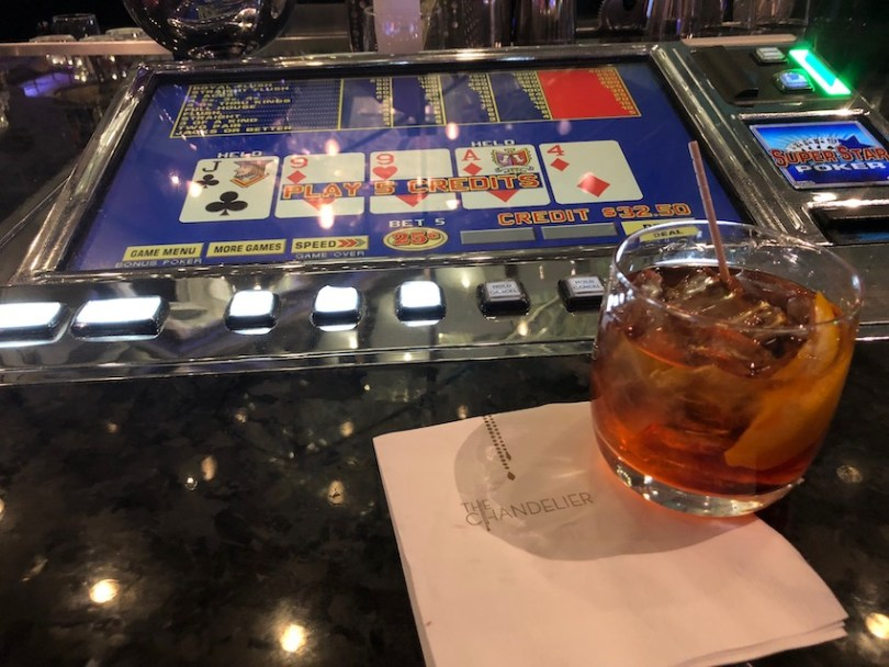 Chandelier Bar Video Poker