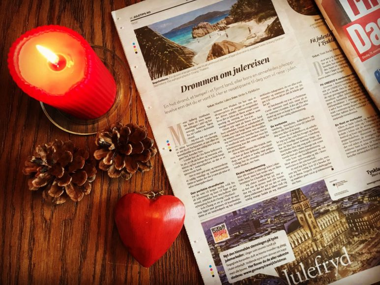 Where to go for Christmas Holiday_interview in Dagbladet