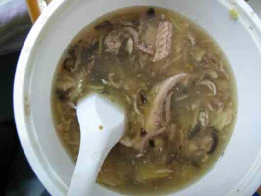 Chinese snake soup recipe