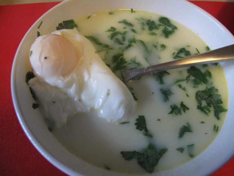Authentic Colombian Changua Recipe (Egg & Milk Soup)