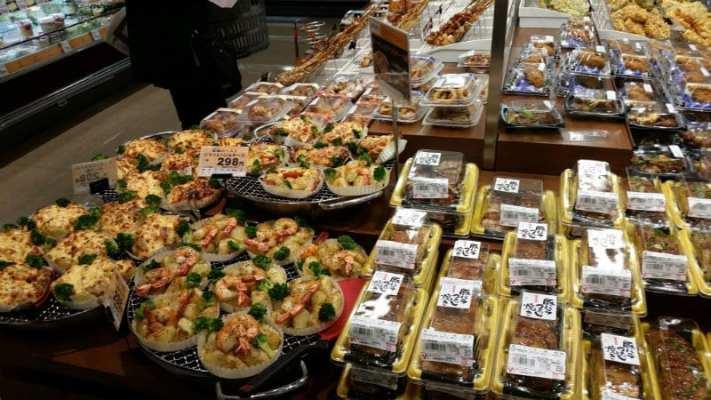 Japanese market food