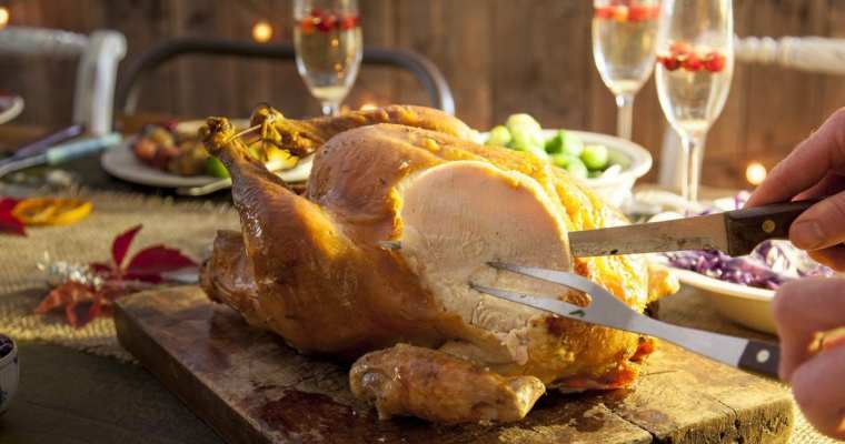 Roast Turkey is eaten for Christmas in the UK, USA and Canada