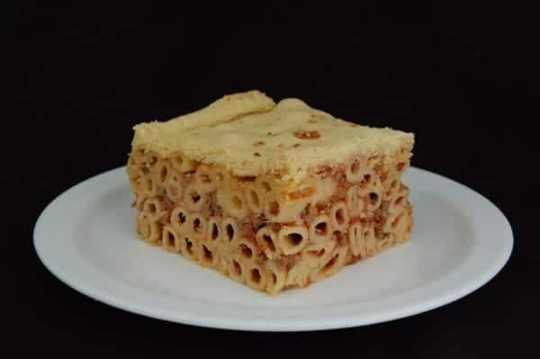 Timpana Maltese Macaroni and cheese casserole