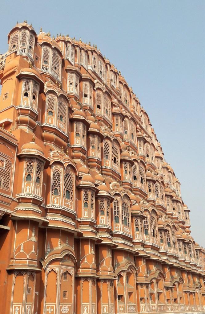 Side view of Hawa Mahal