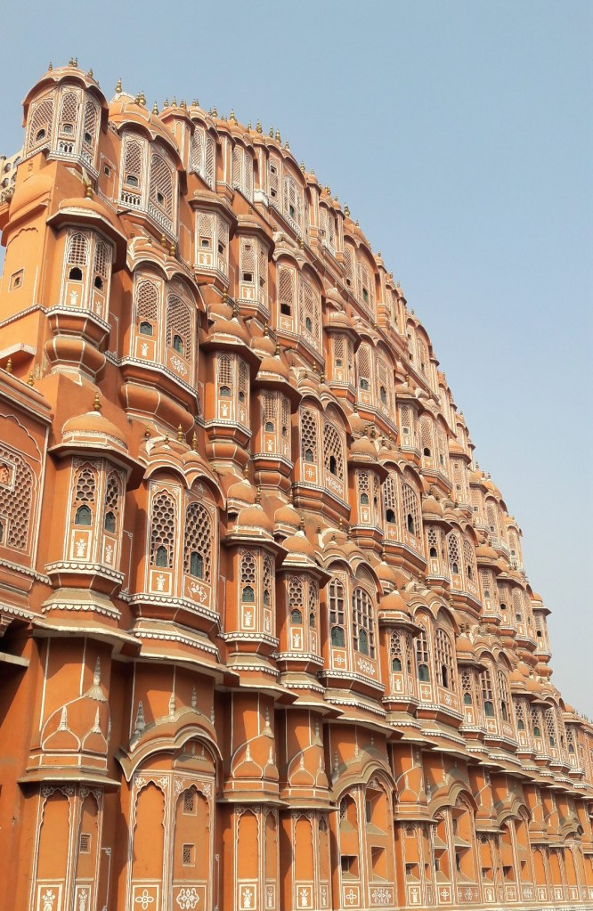 Side view of Hawa Mahal