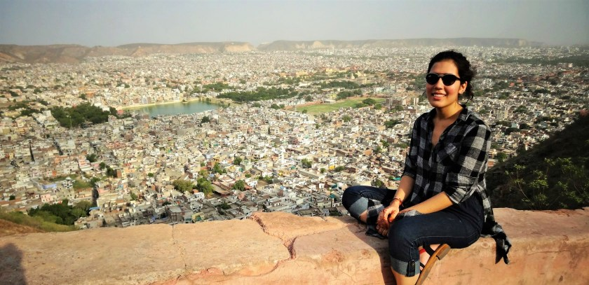 City view from back of Nahargarh fort