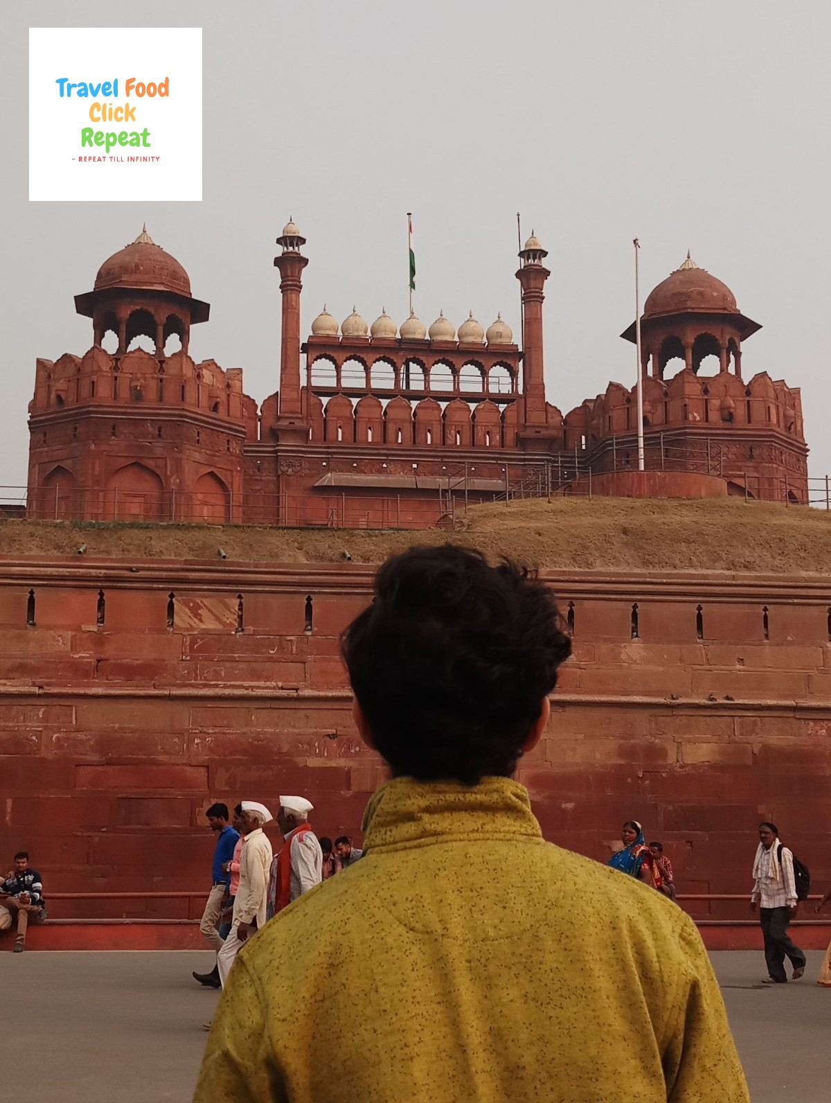 Shubham-Jain-at-Red-Fort