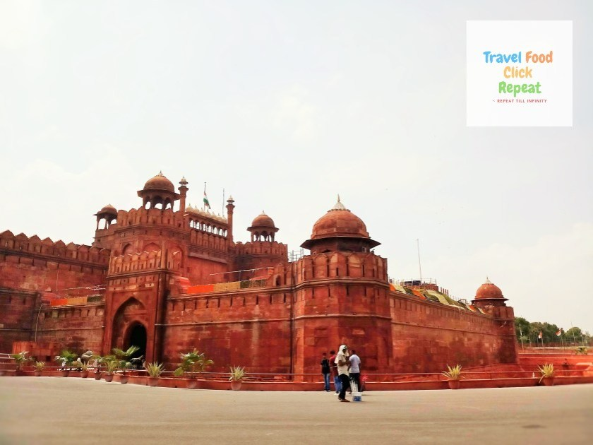 Side View of Red Fort