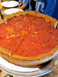 Giordanos Arizona - world famous chicago deep dish pizza - travel foodie mom