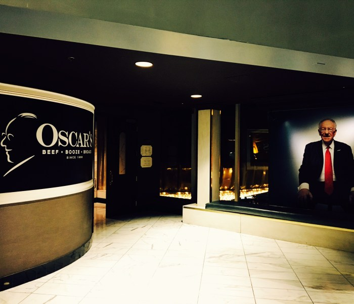 Oscar's Steakhouse, Hidden Treasure