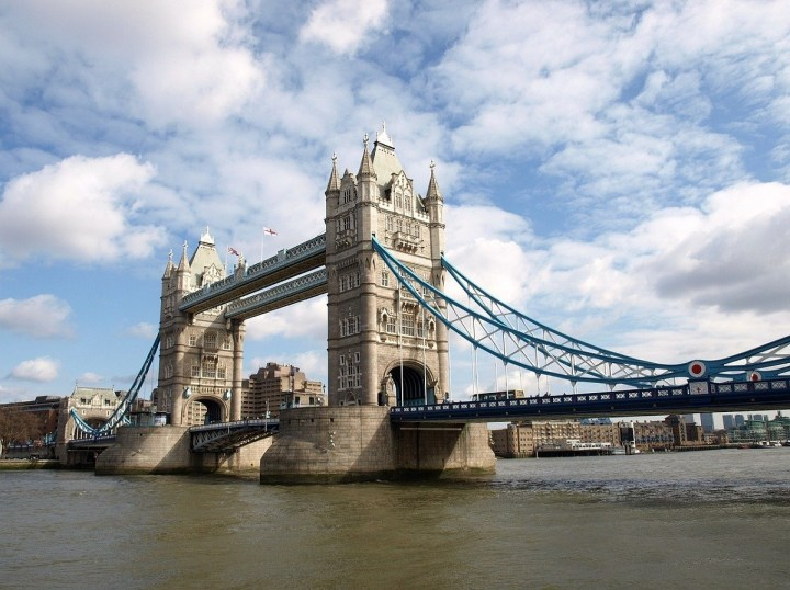 Tower Bridge is at the top of any London Itinerary